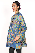 High-Neck Topper #2 by Mieko Mintz  (One Size (6-14), Cotton Jacket)
