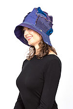 Full Brim Hat #1 by Mieko Mintz  (Cotton Hat)