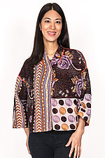 Cropped Jacket #3 by Mieko Mintz  (One Size (2-16), Cotton Jacket)