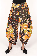 Harem Pant #3 by Mieko Mintz  (Size L (14-16), Cotton Pants)