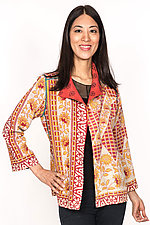 Short Jacket #2 by Mieko Mintz  (Size M (6-8), Cotton Jacket)