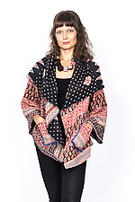 Circular Jacket #1 by Mieko Mintz  (One Size (2-16), Cotton Jacket)