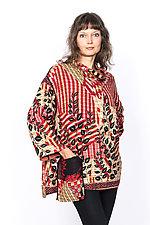 Cowl Collar Tunic #1 by Mieko Mintz  (One Size (4-16), Cotton Tunic)