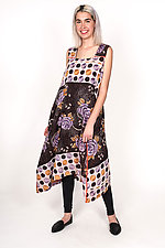 Tent Dress #4 by Mieko Mintz  (Size L (16-18), Cotton Dress)