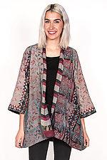 A-Line Jacket #5 by Mieko Mintz  (Size S (2-4), Silk & Cotton Jacket)