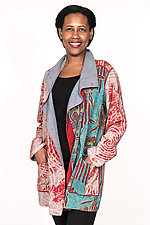 Pocket Jacket #2 by Mieko Mintz  (One Size (2-14), Silk & Cotton Jacket)