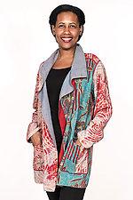 Pocket Jacket #2 by Mieko Mintz  (One Size (2-14), Silk & Cotton Jacket)