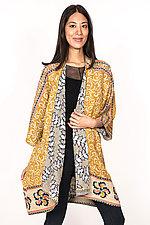 Kimono Duster #4 by Mieko Mintz  (One Size (2-16), Cotton Coat)
