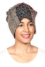 Patchwork Hat #3 by Mieko Mintz  (One Size, Cotton Hat)