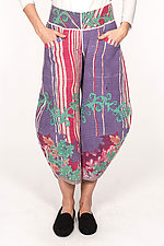 Harem Pant #1 by Mieko Mintz  (Size S (4-8), Cotton Pants)