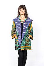 Back Tuck Jacket #2 by Mieko Mintz  (Medium (8-10), Cotton Jacket)