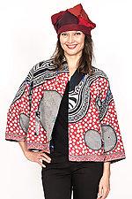 Cropped Jacket #6 by Mieko Mintz  (One Size (2-16), Cotton Jacket)