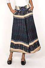 Wide Leg Pant #7 by Mieko Mintz  (Size L (14-16), Cotton Pants)