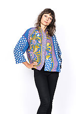 Cropped Jacket #1 by Mieko Mintz  (One Size (2-16), Cotton Jacket)