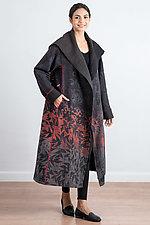 A-Line Long Coat #3 by Mieko Mintz (Cotton Coat)