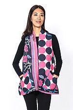 A-Line Short Vest #4 by Mieko Mintz  (Size 1 (6-12), Cotton Vest)