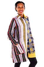 A-Line Duster #3 by Mieko Mintz  (Size 1 (2-14), Cotton Coat)