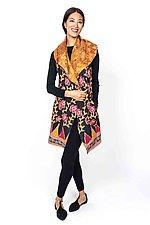 Circular Vest #5 by Mieko Mintz  (Size 1 (4-14), Cotton Vest)