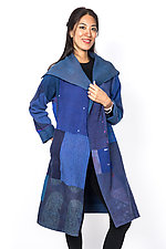 A-Line Coat #1 by Mieko Mintz  (One Size (4-16), Cotton Jacket)