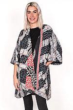 Kimono Duster #1 by Mieko Mintz  (One Size (2-16), Cotton Coat)