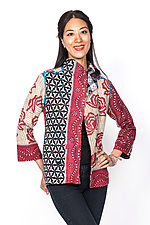 Short Jacket #2 by Mieko Mintz  (Small (2-4), Cotton Jacket)