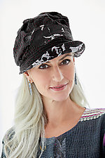 Brim Hat #1 by Mieko Mintz  (Cotton Hat)