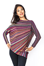 Color Wheel Sweater by Mieko Mintz  (Knit Sweater)
