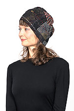 Patchwork Hat #8 by Mieko Mintz  (Cotton Hat)