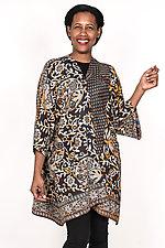 Kimono Duster #3 by Mieko Mintz  (One Size (2-16), Cotton Coat)