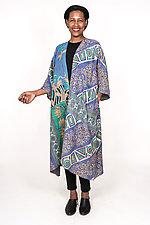 Kimono Maxi #4 by Mieko Mintz  (One Size (2-16), Cotton Coat)