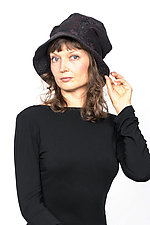 Full Brim Hat #4 by Mieko Mintz  (Cotton Hat)