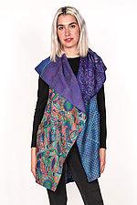 Circular Vest #4 by Mieko Mintz  (Size 1 (2-12), Silk Vest)