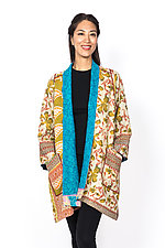 A-Line Jacket #3 by Mieko Mintz  (Size 2 (16-18), Cotton Jacket)