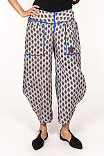 Harem Pant #7 by Mieko Mintz  (Size M (10-12), Cotton Pants)