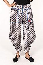Harem Pant #7 by Mieko Mintz  (Size M (10-12), Cotton Pants)