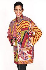 Pieced Jacket #1 by Mieko Mintz  (Size M (4-12), Cotton Jacket)