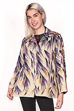 Back Flare Jacket #3 by Mieko Mintz  (One Size (2-14), Cotton Jacket)