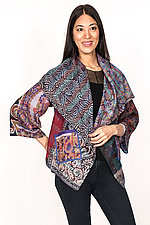 Circular Jacket #1 by Mieko Mintz  (One Size (2-16), Silk Jacket)