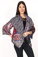 Circular Jacket #1 by Mieko Mintz  (One Size (2-16), Silk Jacket)