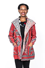 Pocket Jacket #6 by Mieko Mintz  (One Size (2-14), Cotton Jacket)