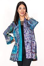 A-Line Jacket #8 by Mieko Mintz  (Size M/L (6-14), Silk Jacket)