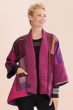 Kantha Kimono Jacket by Mieko Mintz  (Woven Jacket)