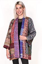 A-Line Jacket #11 by Mieko Mintz  (Size XL (16-20), Silk Jacket)