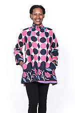 Flare Long Jacket #3 by Mieko Mintz  (Medium (8-10), Cotton Jacket)