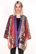 A-Line Jacket #6 by Mieko Mintz  (Size M/L (6-14), Silk & Cotton Jacket)