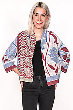 Cropped Jacket #5 by Mieko Mintz  (One Size (2-16), Cotton Jacket)