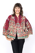 Cropped Jacket #4 by Mieko Mintz  (One Size (2-16), Cotton Jacket)