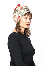 Patchwork Hat #9 by Mieko Mintz  (Cotton Hat)