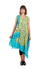 Ombre Mud-Dye Shibori Tank Dress by Mieko Mintz (Cotton Dress)