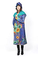 Hooded Long Coat #2 by Mieko Mintz  (One Size (4-16), Cotton Jacket)